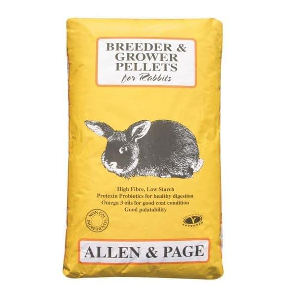 A&p breeder/grower rabbit pellets